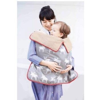 zb0032嬰幼兒多功能用加厚抱被/蓋毯(展)