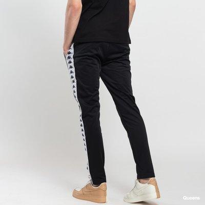 【吉米.tw】KAPPA 男款 經典串標運動長褲 黑 義大利 潮流 串標 301EFS0 AUG