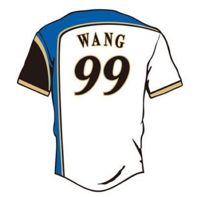王柏融  柏融大王 日本職棒火腿隊主場球衣 電繡版 Wang背號 #99 絕版號碼 最後入手機會