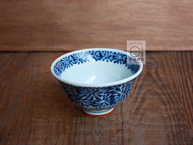 +佐和陶瓷餐具批發+【XL071115-3藍凜堂唐草3.8井-日本製】日本製 甜湯碗 碗缽 小缽 湯碗 分享缽