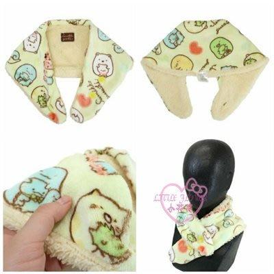♥小花花日本精品♥角落生物保暖脖圍圍巾絨毛被材質防風保暖單一價~3