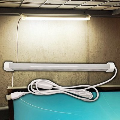 【贈品禮品】A4542 宿舍神燈-自然光(附開關)/免打孔USB燈管/LED照明燈讀書燈夜燈USB日光燈管/贈品禮品