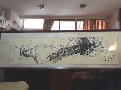 手繪中古國畫一幅