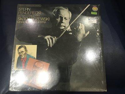 開心唱片 (STERN PENDERECKI / VIOLIN CONCERTO) 二手 黑膠唱片 DD648