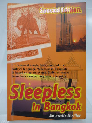 【月界2】Sleepless in Bangkok:An Erotic Thriller(特別版) 〖外文小說〗COV