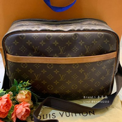 【Brand二手名品】LV M45252 書包 肩背包 公事包 記者包 現貨