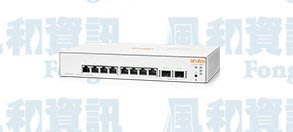 Aruba Instant On 1930 8G 2SFP 8埠GbE智慧網管交換器(JL680A)【風和網通】