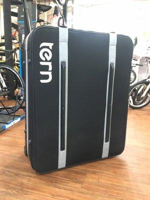 小哲居 Tern-AirPorter 折疊車專用單車航空箱 攜車箱 客戶寄賣 9.5成新 絕版品 適合16~26吋輪