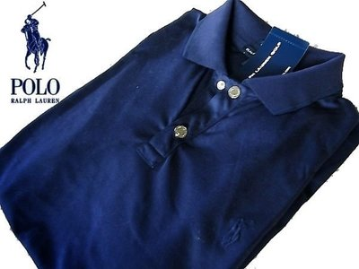 POLO Ralph Lauren 女短袖 Polo衫 高爾夫 網球 瑜珈 深藍色 運動 排汗 M L【以靡專櫃正品】