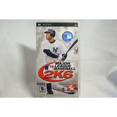 [耀西]二手 美版 SONY PSP 美國職棒大聯盟 2K6 MAJOR LEAGUE BASEBALL 含稅附發票