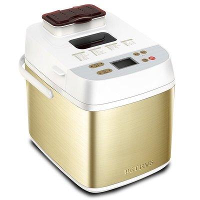 麵包機柏翠PE6280面包機家用全自動撒果料智能和面發酵小型早餐烤吐司機吐司機