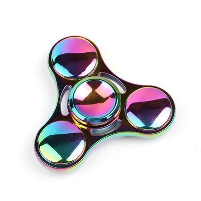 【12h出貨】指尖陀螺 炫彩極光 Hand Spinner 紓壓神器療癒解壓玩具生日禮物