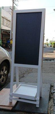 zakka糖果臘腸鄉村雜貨坊     木作類.EILONWY雙面黑板架/花架大黑板(告示牌廣告牌指標路牌標示黑板海報看板