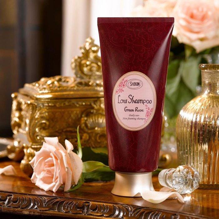 香氛 ◎以色列 SABON 綠玫瑰 溫和淨化洗髮乳 200ml 洗髮精 真品 正貨