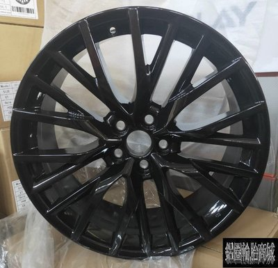 【CS-9714】全新鋁圈 類LEXUS原廠 F SPORT 20吋 5孔114.3 RX450 NX300 亮黑 PK