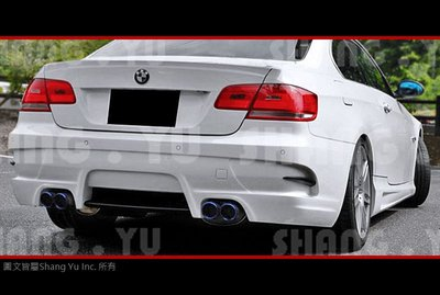 BMW E92 E93 COUPE 後保桿 空力套件 05 06 07 08 09 10