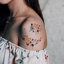 【萌古屋】花朵 - 男女防水紋身貼紙刺青貼紙FC-102 K02
