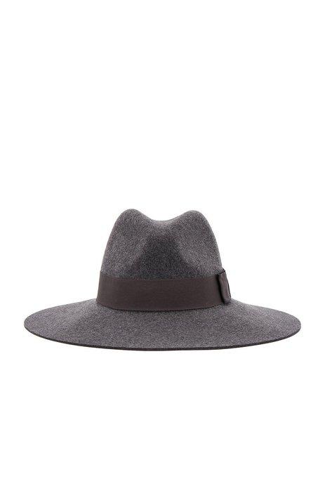 ◎美國代買◎Brixton Piper 黑色緞帶裝飾微軟帽緣純羊毛紳士帽~歐美時尚