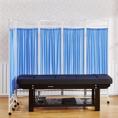 醫用屏風醫院醫療鐵布藝隔斷折屏衛生室診所推拉移動折疊帶輪