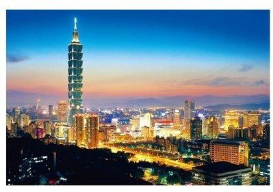 【街頭巷尾】看見台灣 台北夜景 1000-002N 【1000片夜光拼圖】