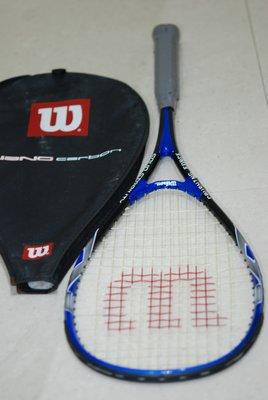 Wilson Nano Carbon Squash Racquet 碳 纖 維 壁球 迴力球 拍