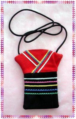 原住民阿美族手工藝品--民俗傳統背心式福袋