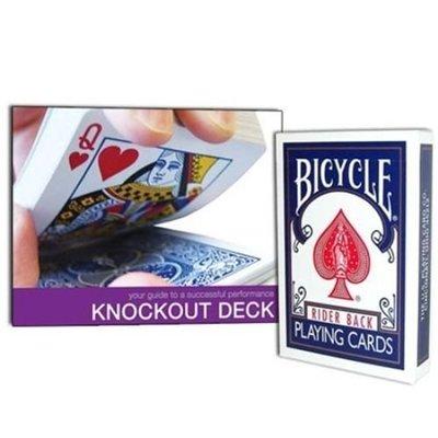 【USPCC撲克】撲克牌BICYCLE 擊倒 knockout deck