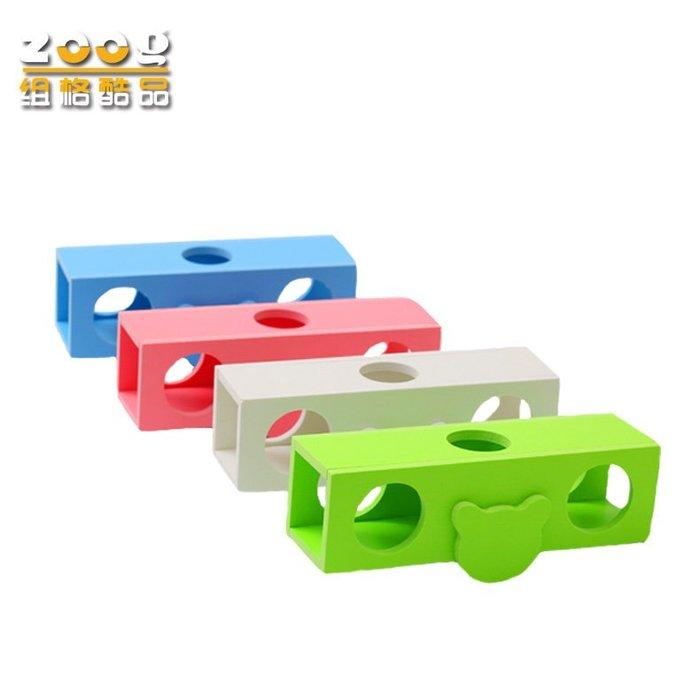 豪華倉鼠玩具小窩木質金絲熊玩具翹翹筒環保無毒磨牙小寵用品