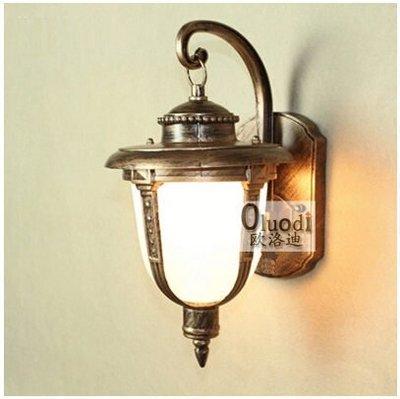 {美學}戶外燈 歐式壁燈 庭院燈 防水...