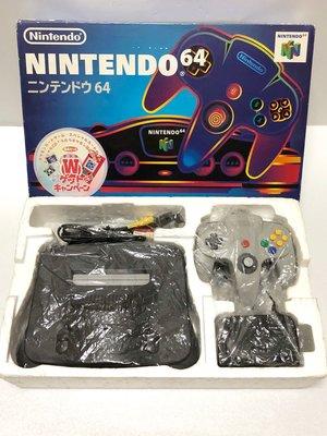 【任天堂 Nintendo 64】 N64 日製盒裝主機、遊戲x4 出售