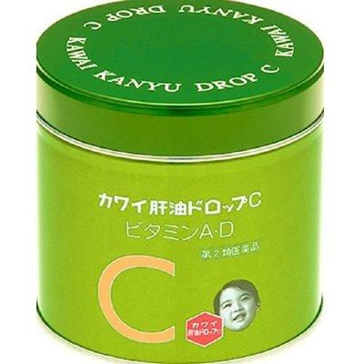 KAWAI 日本兒童魚肝油丸C(綠色) 150粒