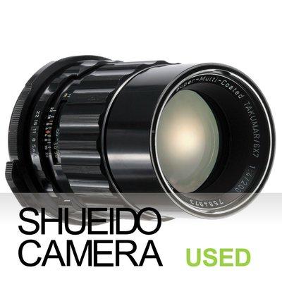 集英堂写真機【3個月保固】中古良品 PENTAX 67 S.M.C. TAKUMAR 200mm F4 鏡頭 21175