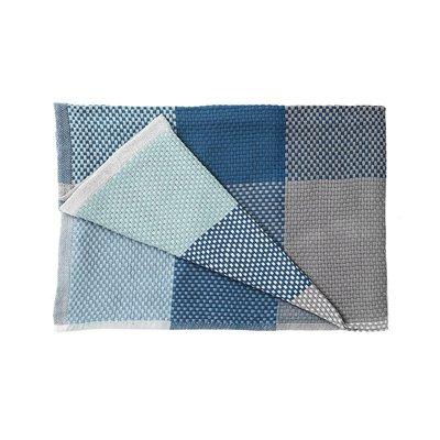 Luxury Life【正品】Muuto Loom 180x130cm 方格 純棉紡織 沙發毯 / 個人被毯