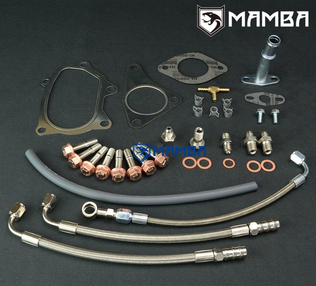 Subaru Legacy Liberty IHI RHF5H VF40 VF52 Turbo 鐵氟龍油水管