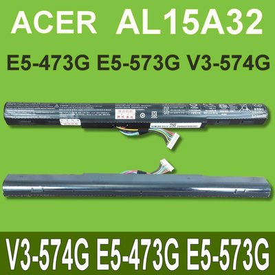 保三 ACER AL15A32 原廠電池 E5-473G-59L5 E5-473G E5-573G E5-422g 台中市