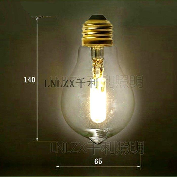 5Cgo【權宇】A19 A60 A65 LED 燈絲燈 E27 愛迪生復古仿鎢絲 設計氣氛造景燈泡 3W 含稅會員扣5%