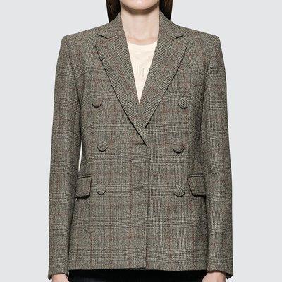 Helmut Lang - Double Breasted Blazer 女雙排扣西裝外套 超低折扣代購中