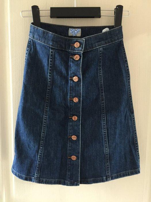 【現貨】顯廋 牛仔短裙 kiito/apt3r