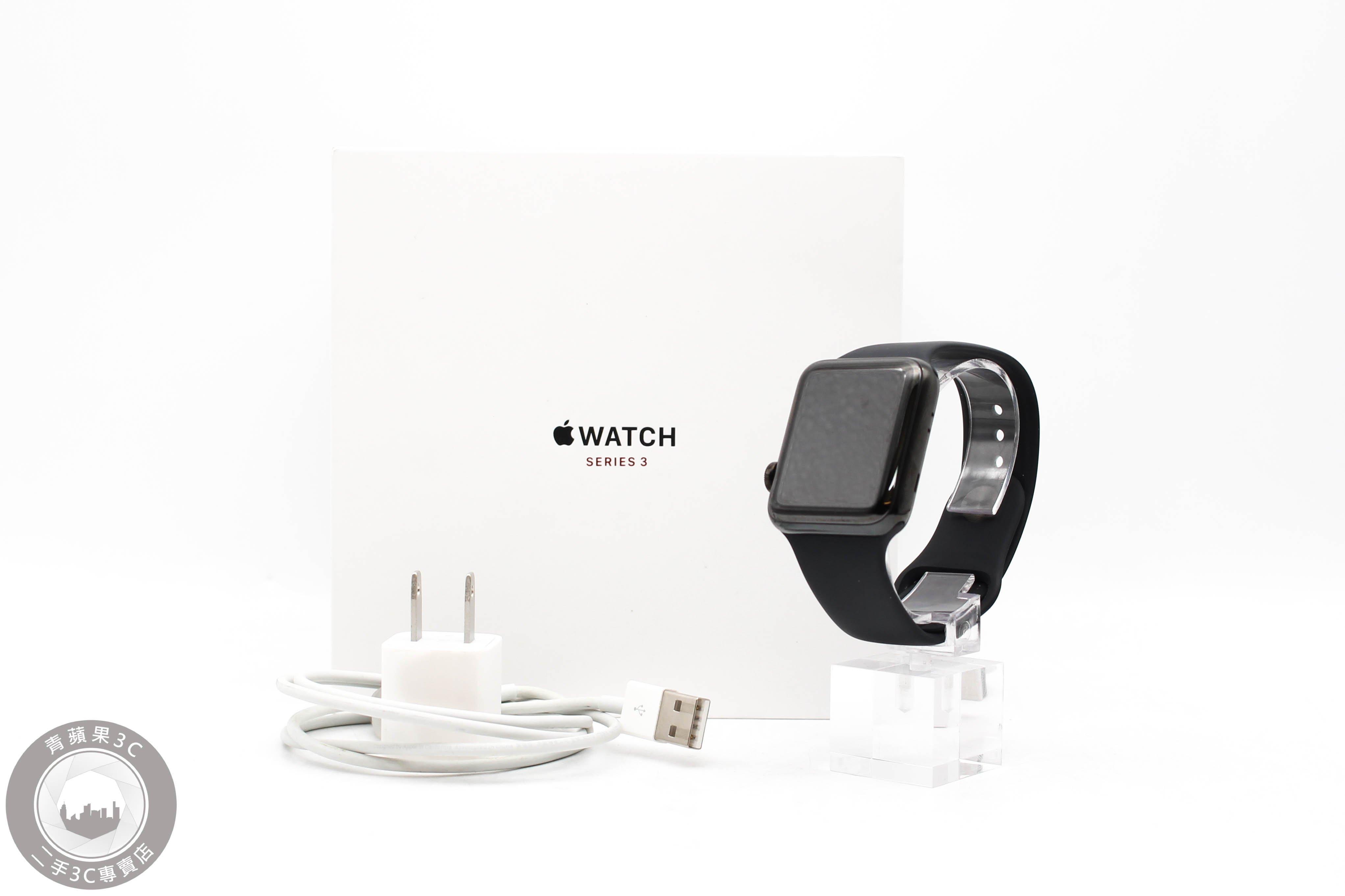 【高雄青蘋果3C】Apple Watch Series 3 GPS+LTE 42mm 不鏽鋼 蘋果手錶 #49332