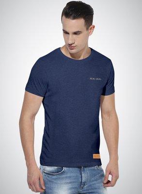 精選銀線刺繡 REAL DEAL 字體設計T恤