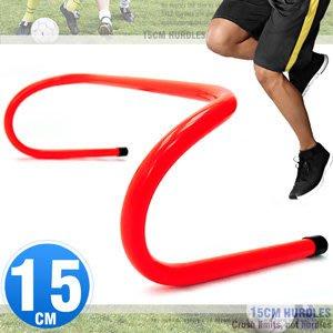 15CM速度跨欄訓練小欄架一體成形高低梯棒球障礙跳格欄田徑多功能架子ptt運動健身器材D062-MK852A【推薦+】