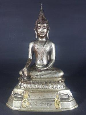 [銀九藝] 銅器 銅雕 老件 釋迦摩尼...