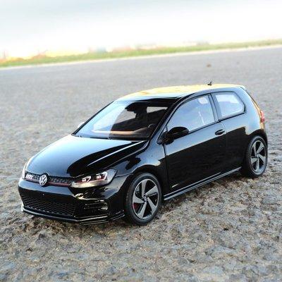 車模收藏 1:18汽車模型1:18 NOREV 款 大眾 高爾夫 GTI 7.5 合金汽車模型訂制