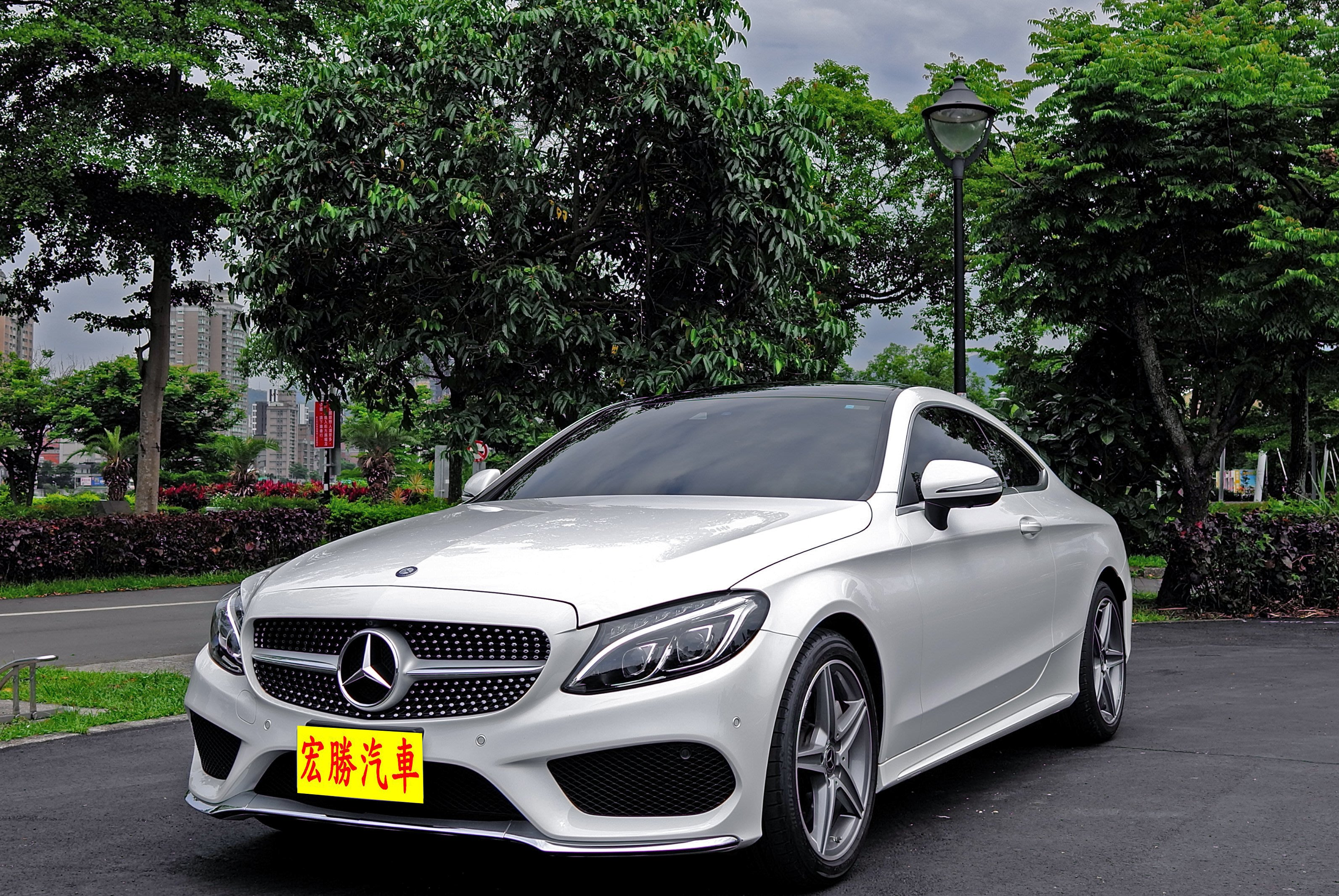 2017 M-benz C-class coupe