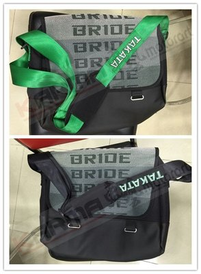KarMa車藝 TAKATA/BRIDE 側背包 (綠色背帶/黑色背帶)