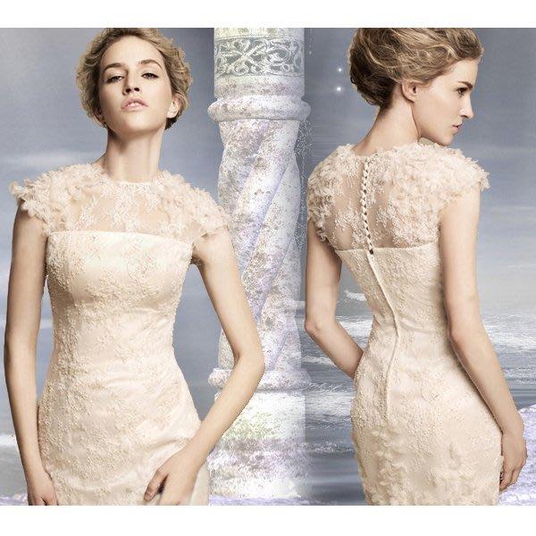 5Cgo 【鴿樓】會員有優惠 20069180890 伴娘禮服 短款婚紗小禮服裙新娘結婚敬酒服晚禮服