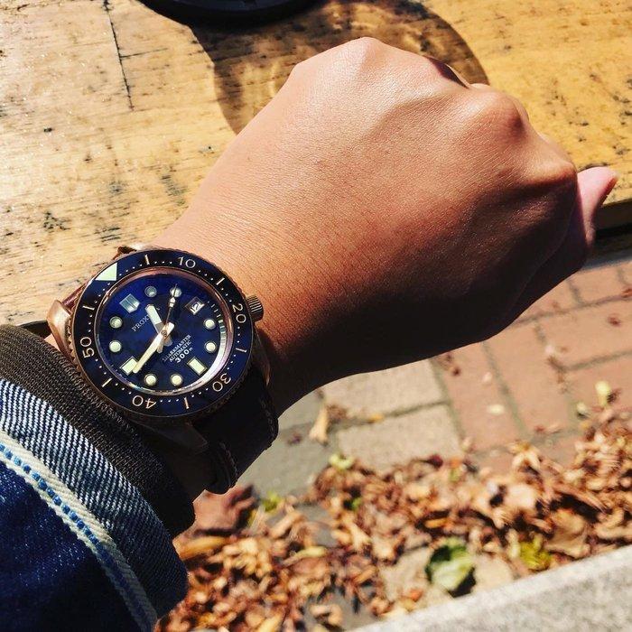 【六樓先生】Proxima 大MM 藍寶石鏡面 青銅錶 機械錶 潛水錶