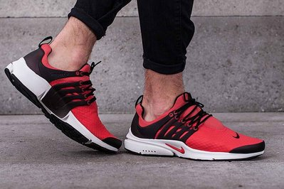 【Cool Shop】NIKE AIR PRESTO ESSENTIAL 黑紅 透氣 魚骨 慢跑鞋848187-600 台北市