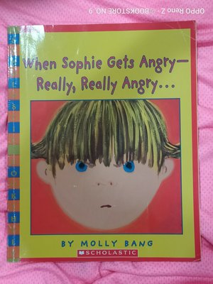 *NO.9 九號書店* When Sophie Gets Angry- Really, Really Angry英文繪本