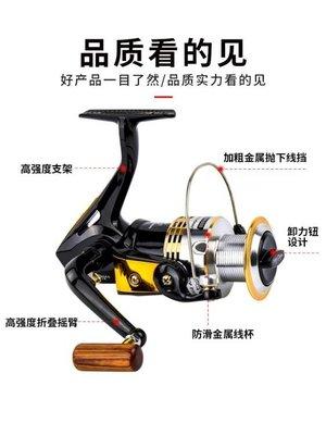 捲線器漁輪特價魚輪紡車輪全金屬魚線輪線杯海竿路亞遠投輪海桿輪